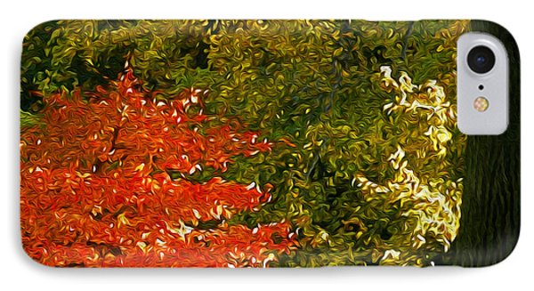 IPhone Case featuring the photograph The Color Of Autumn by Yue Wang