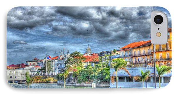 The Colors Of Casco Viejo Phone Case by Bob Hislop