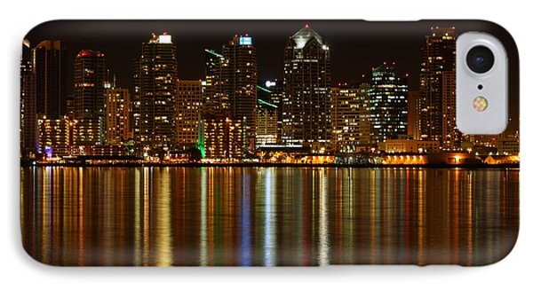 The Colors Of San Diego IPhone Case by Nathan Rupert