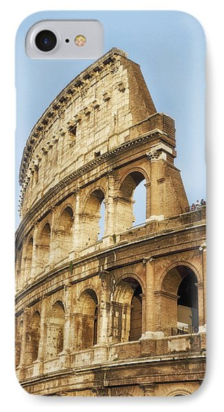 IPhone Case featuring the photograph The Colosseum by Kim Andelkovic