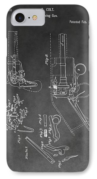 The Colt Revolver IPhone Case