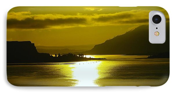 The Columbia River In The Morn   IPhone Case