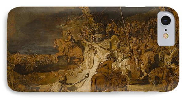 The Concord Of The State IPhone Case by Rembrandt van Rijn