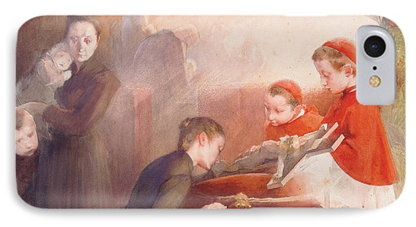 The Confirmation IPhone Case by Henri Jules Jean Geoffroy