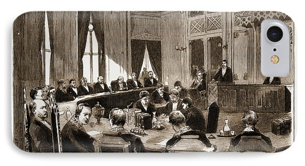 The Constitutional Crisis In Norway, 1883 View Of The Court IPhone Case