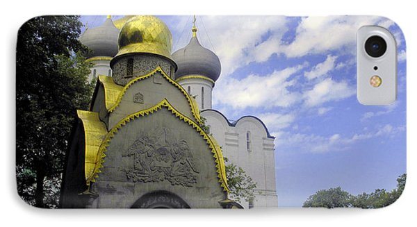The Convent In Moscow - Russia IPhone Case by Madeline Ellis