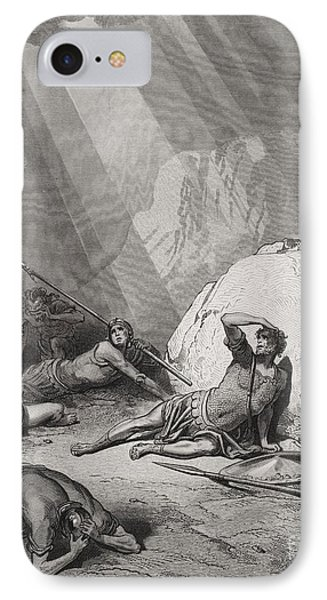 The Conversion Of St. Paul IPhone Case by Gustave Dore