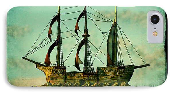 The Copper Ship Phone Case by Colleen Kammerer
