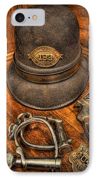 The Copper's Gear - Police Officer Phone Case by Lee Dos Santos