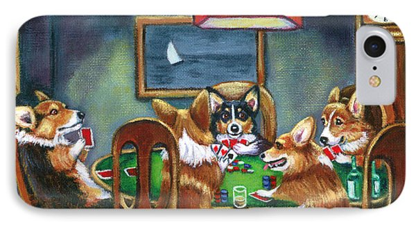 The Corgi Poker Game IPhone Case