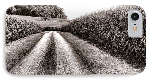 The Corn Road Phone Case by Olivier Le Queinec