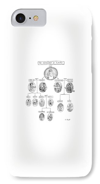 The Cosmology Of Timmy IPhone Case by Roz Chast