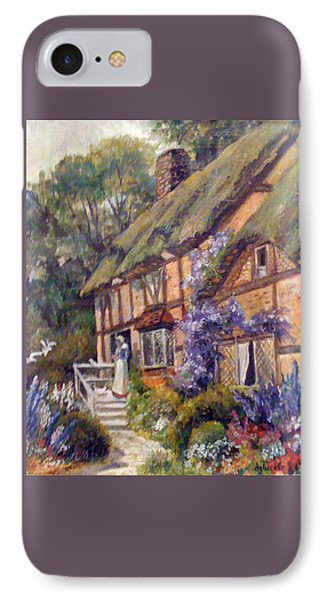 The Cottage Phone Case by Donna Tucker