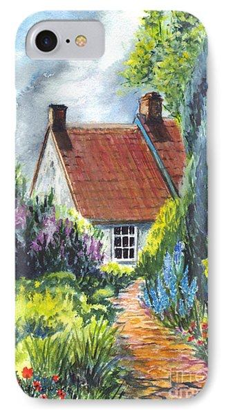 The Cottage Garden Path Phone Case by Carol Wisniewski
