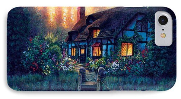 The Cottage Phone Case by MGL Studio - Chris Hiett