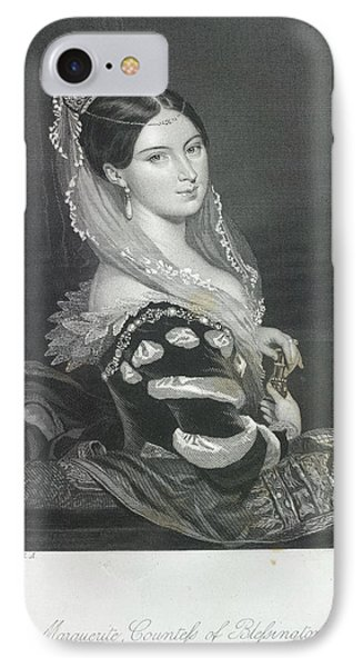 The Countess Of Blessington IPhone Case by British Library