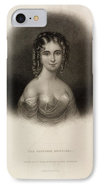 The Countess Teresa Guiccioli IPhone Case by British Library