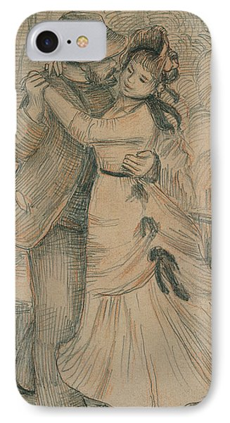 The Country Dance IPhone Case by Pierre Auguste Renoir