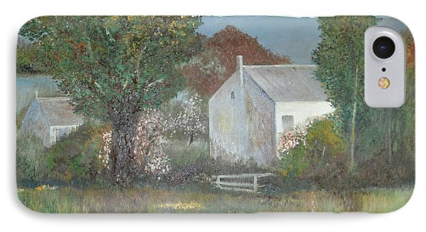 The Country House IPhone Case by Suzette Kallen