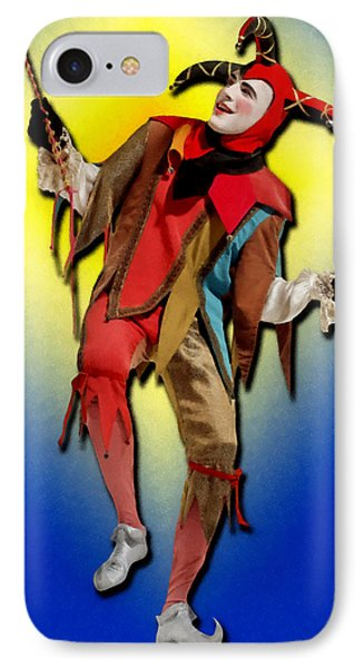 The Court Jester IPhone Case by Tyler Robbins