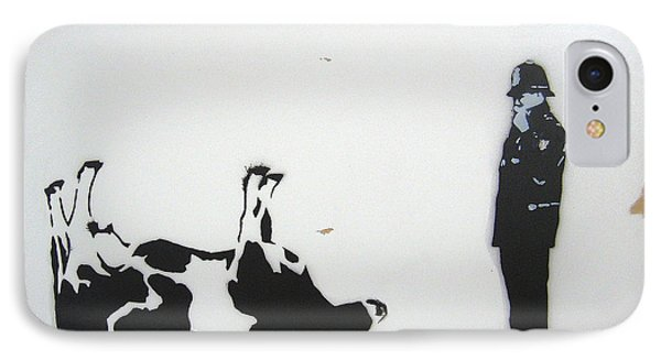 The Cow Phone Case by Bela Manson