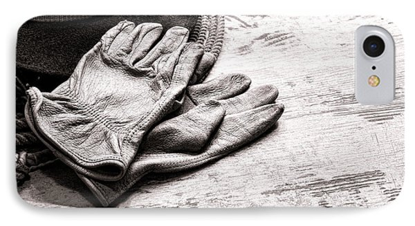 The Cowboy Gloves IPhone Case by Olivier Le Queinec