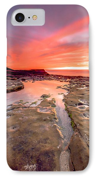 The Crack In The Rock IPhone Case by Robert  Aycock