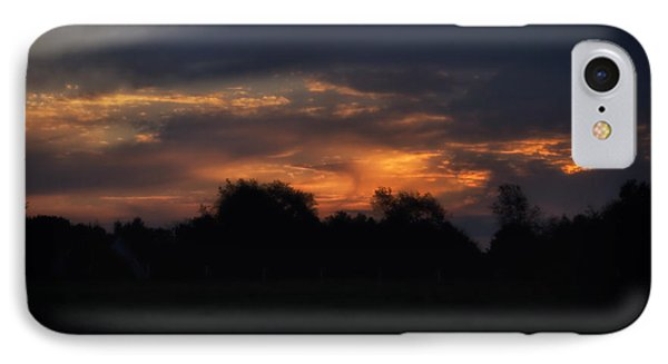 The Crack Of Dawn Phone Case by Thomas Woolworth