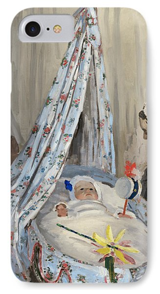The Cradle Phone Case by Claude Monet