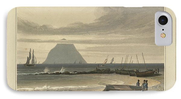 The Crag Of Ailsa IPhone Case by British Library