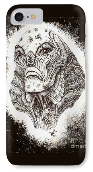 The Creature From The Black Lagoon IPhone Case by Wave