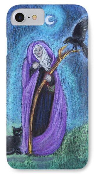 The Crone IPhone Case by Diana Haronis
