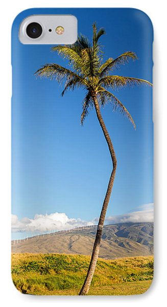 The Crooked Palm Tree IPhone Case