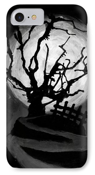 The Crooked Tree IPhone Case by Salman Ravish