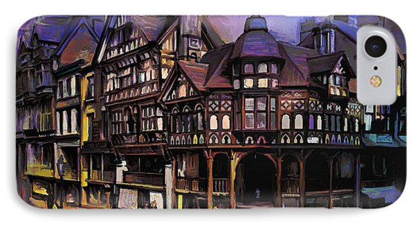 The Cross And Rrows Chester England IPhone Case by Andrzej Szczerski