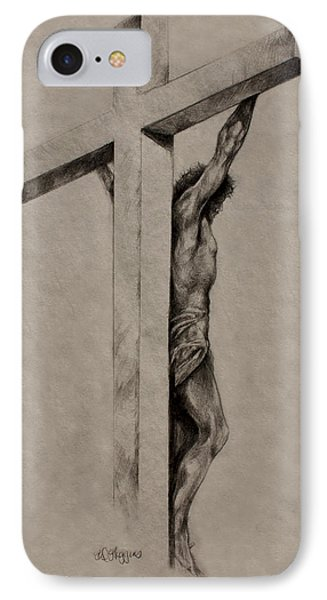 The Cross Phone Case by Derrick Higgins