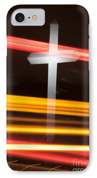 The Cross IPhone Case by Jim McCain