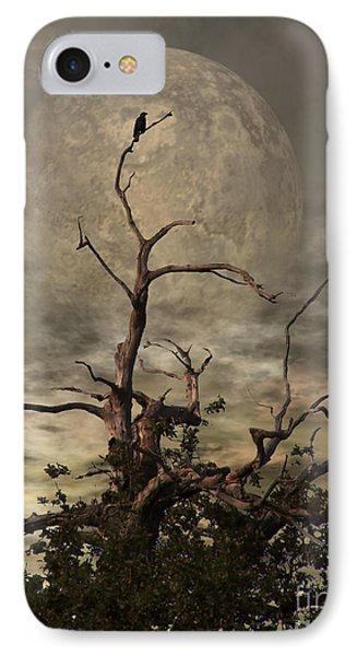 The Crow Tree IPhone Case by Isabella F Abbie Shores FRSA