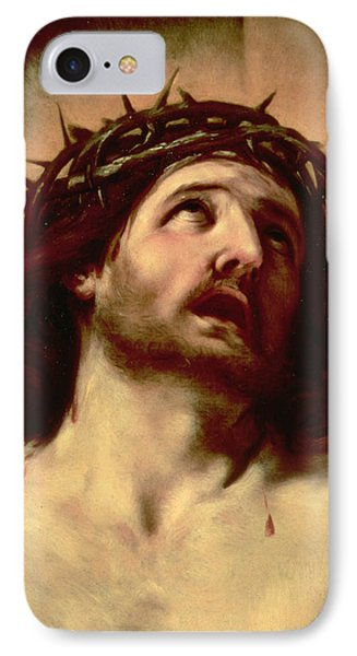 The Crown Of Thorns Phone Case by Guido Reni