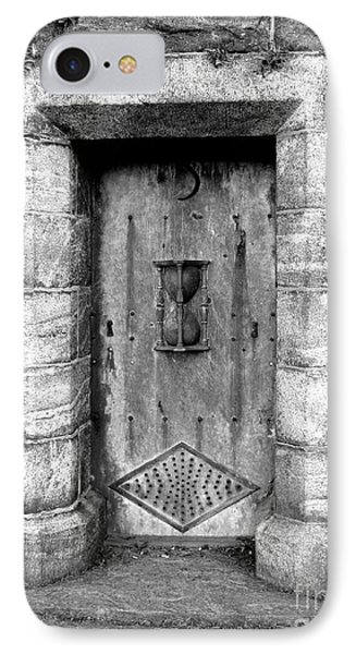 The Crypt Door Phone Case by Avis  Noelle