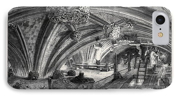 The Crypt Under Old St. Stephens Chapel Westminster Now IPhone Case