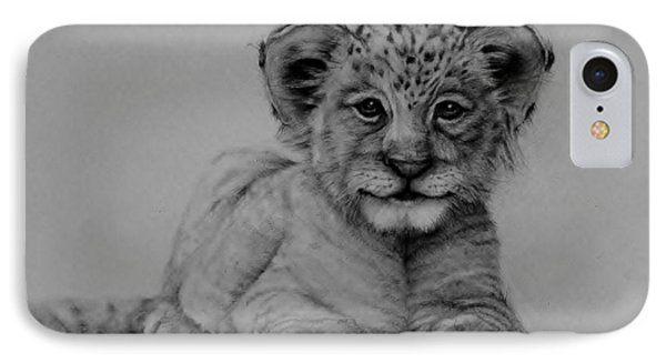 The Cub IPhone Case by Jean Cormier