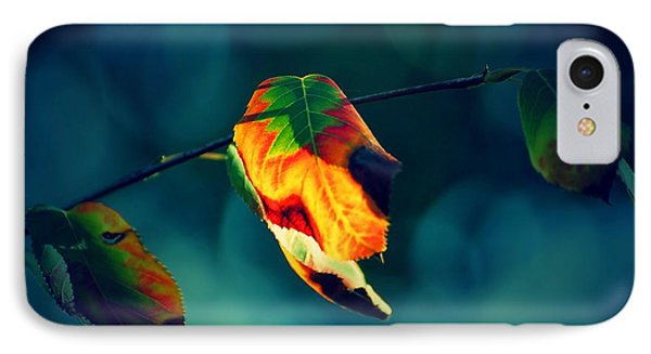 The Cubist Leaf IPhone Case