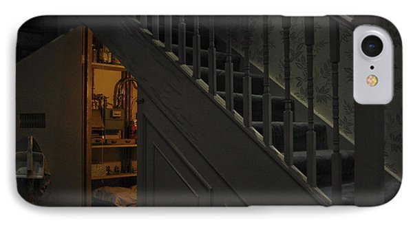The Cupboard Under The Stairs IPhone Case by Gina Dsgn
