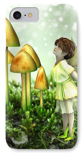 The Curious Fairy IPhone Case by Jayne Wilson