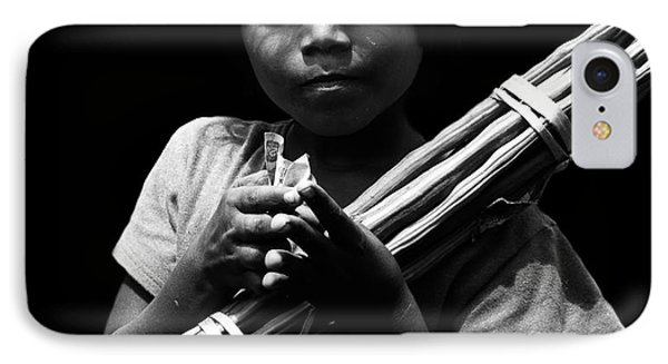 The Curse Of Poverty  IPhone Case