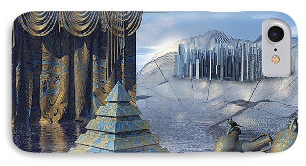 The Curtain Falls Phone Case by Diuno Ashlee