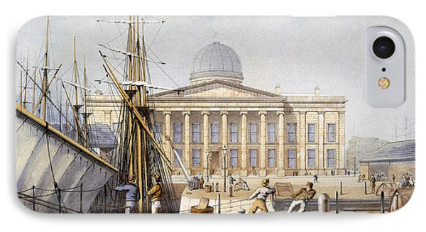 The Customs House And Revenue Building IPhone Case by William Gavin Herdman