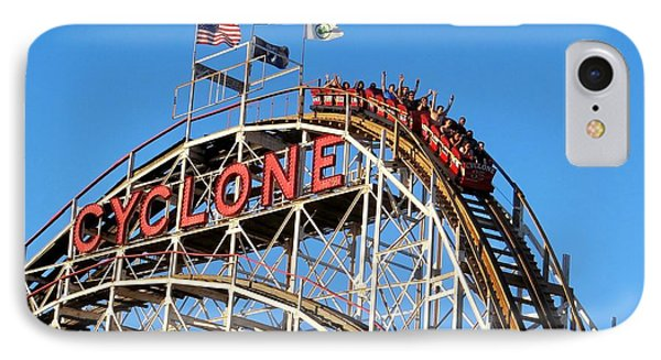 IPhone Case featuring the photograph The Cyclone by Ed Weidman