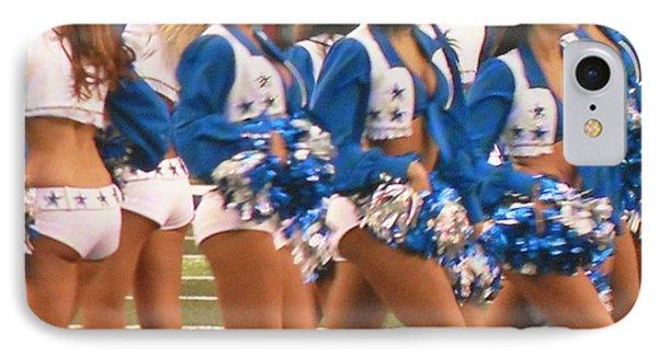 The Dallas Cowboys Cheerleaders Phone Case by Donna Wilson